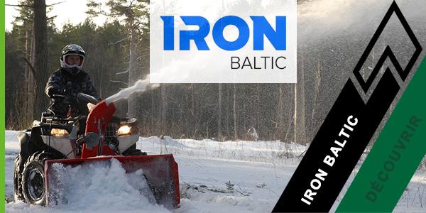 Iron Fraise à neige UTV - Tarentaise Loisirs Services (TLS)